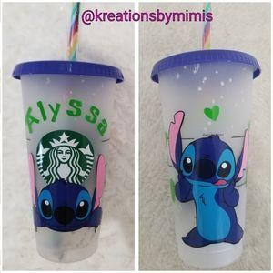 Starbuck confetti cup